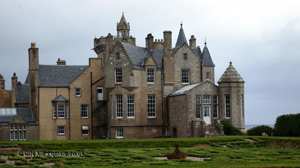 Exterior of Balfour Castle