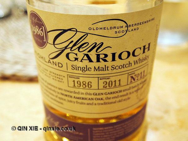 Glen Garioch 86 vintage