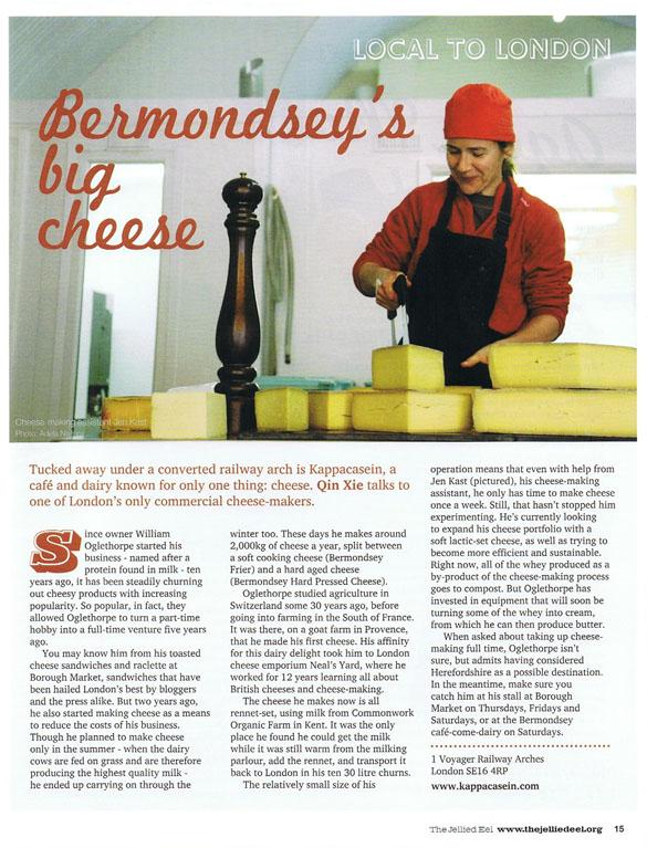Bermondsey's Big Cheese in Jellied Eel