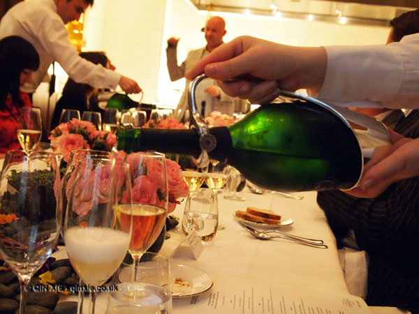 Laurent Perrier Tous Les Sense at Massimo, The Corinthia, London