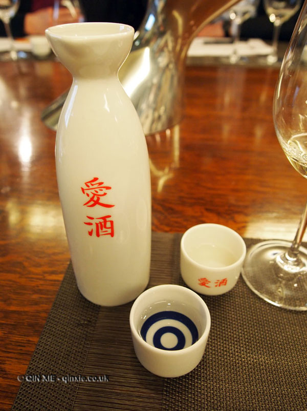 sake sommelier at Harrods wine shop
