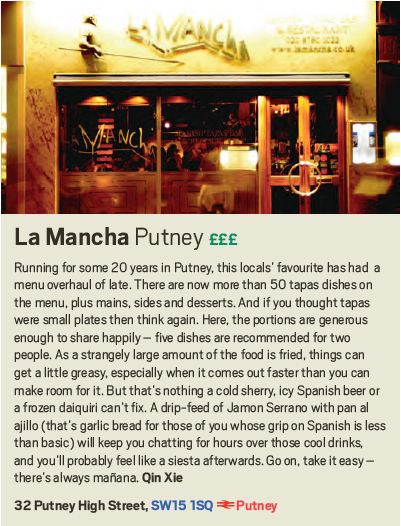 La Mancha, Putney, Scout London