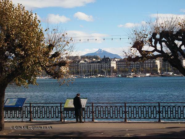 Mont Blanc, Geneva