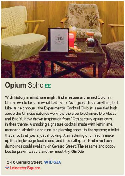 Opium, Scout London