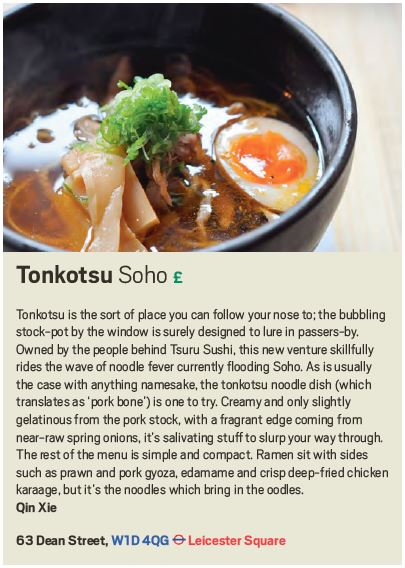 Tonkotsu review, Scout London