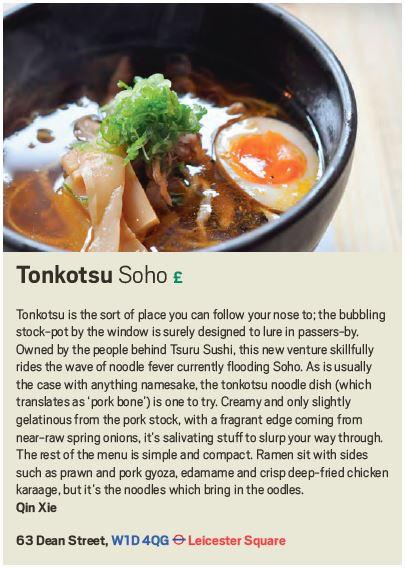Tonkotsu review, Scout London