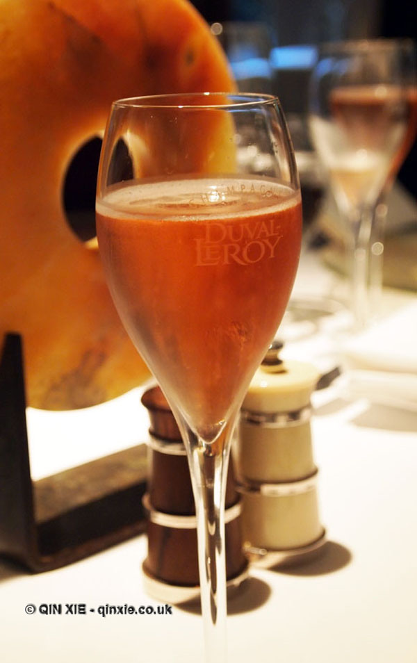 Champagne Duval-Leroy lunch at The Greenhouse, Mayfair