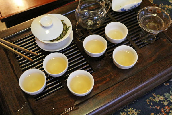 Qin Xie Traditional tea set SuWei Cha Hao
