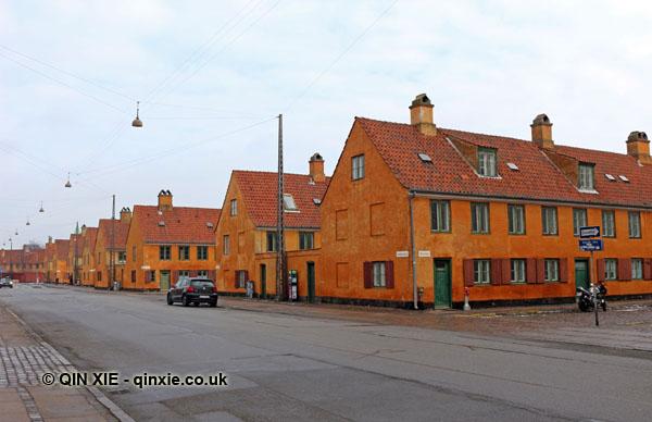 Nyboder houses - Qin Xie